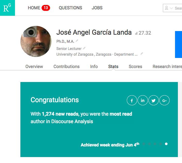 El autor más leído en Análisis del Discurso