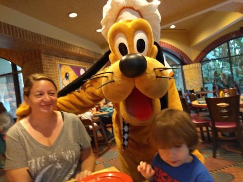 Pluto at Breakfast