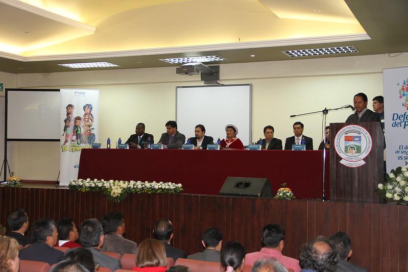 María Victoria Paucar del pueblo Puruhá Kichwa es la nueva delegada de la Defensoría del Pueblo en Chimborazo