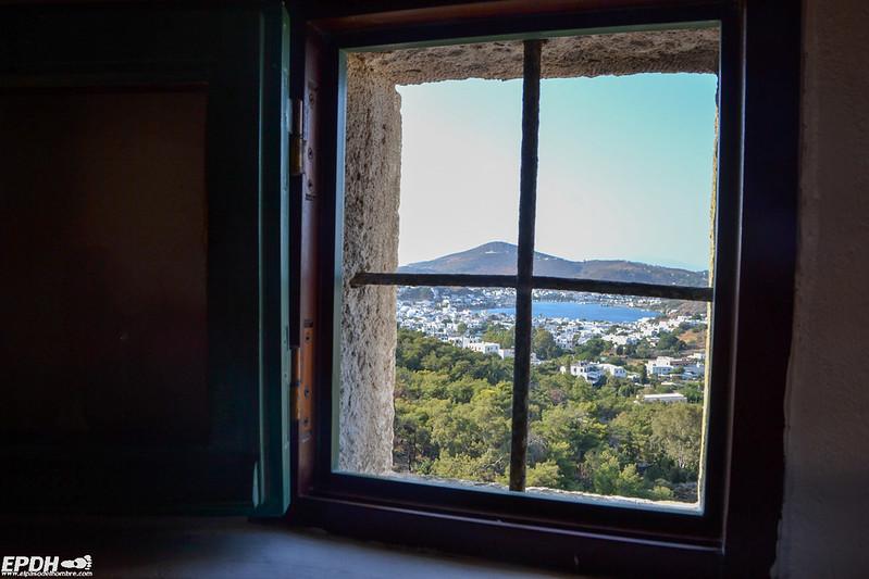 vistas desde la gruta
