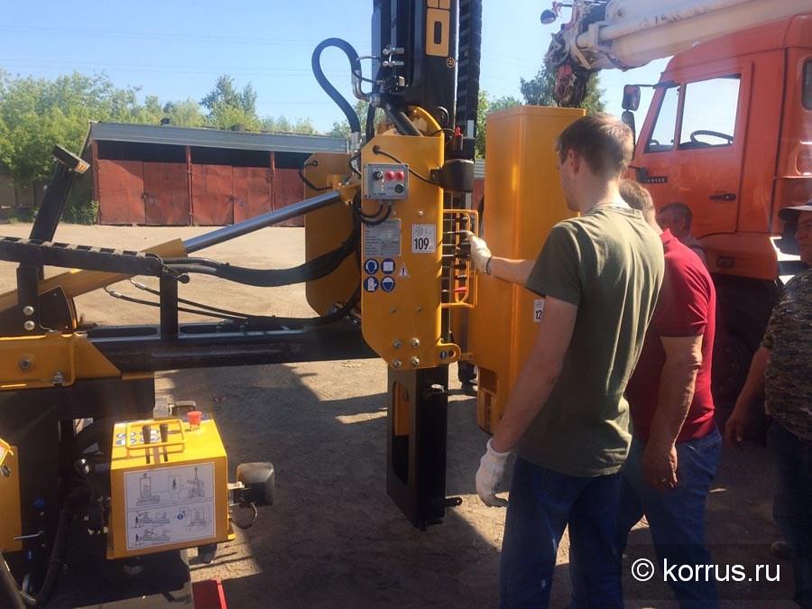 сваебойная машина «ORTECO BTP HEAVY DUTY» в Омской области