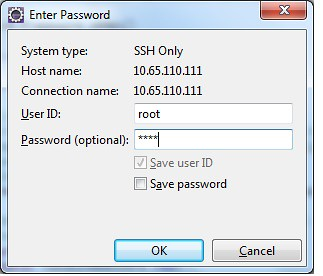Input user name and password