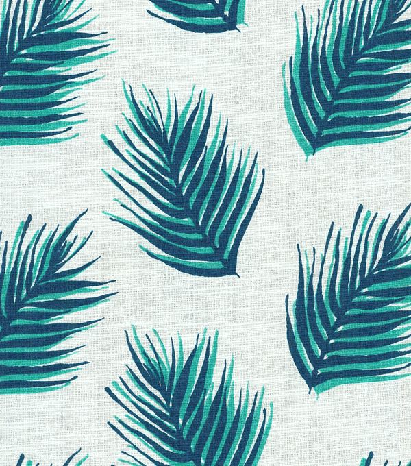 Nate Berkus Home Decor Fabric Palms