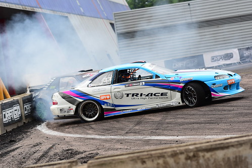 Fredik Øksnevad, Drift GP vs. British Drift Championship, Birmingham 2017