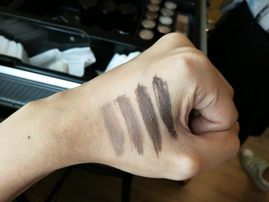 make-up-for-ever-brow-gel-swatches