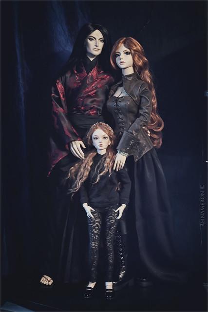 Elisia, Selena and Hiroyuki