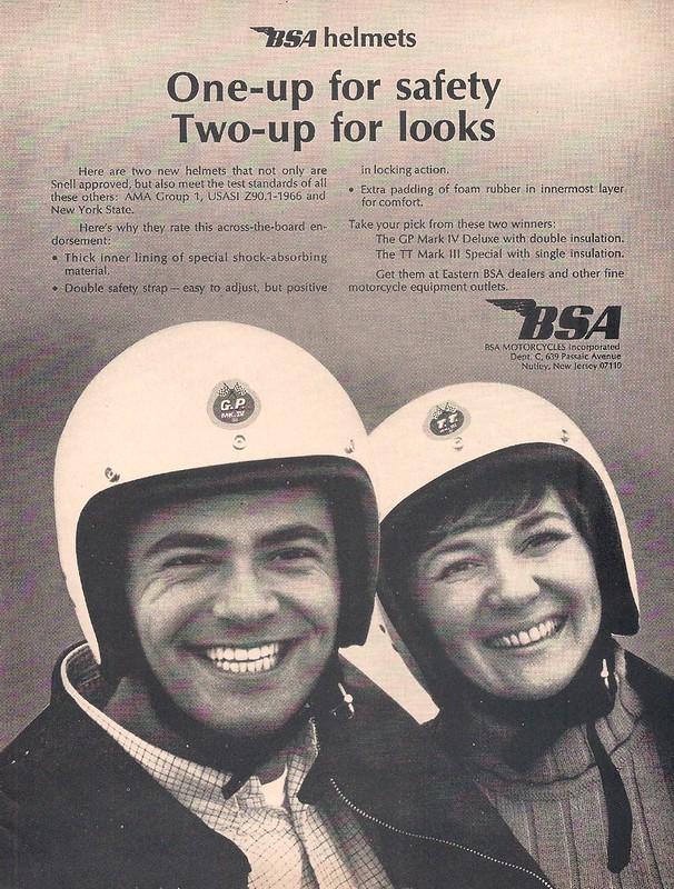BSA helmets