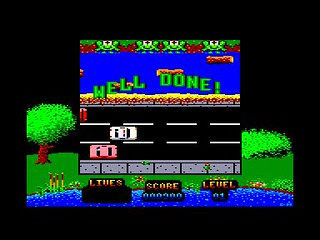 Amstrad CPC Frogger by Clockwize | by Deep Fried Brains