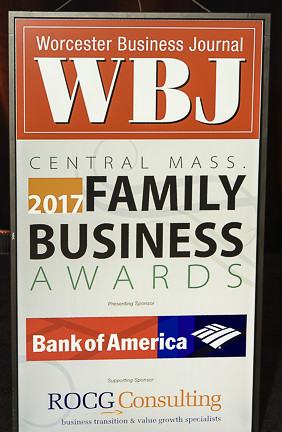 WBJ's 2017 Central Mass Family Business Awards