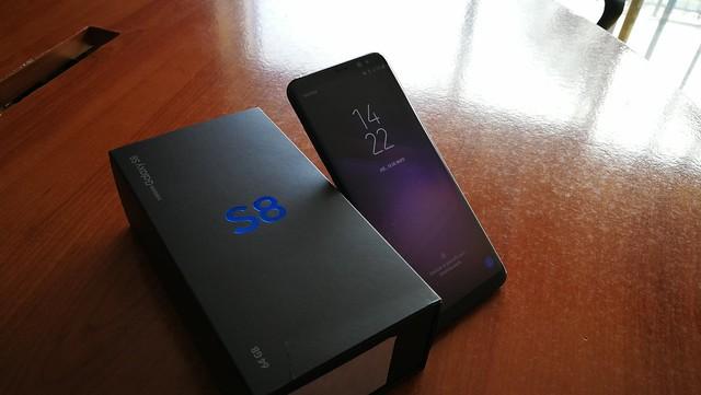 Samsung Galaxy S8 - Apariencia física