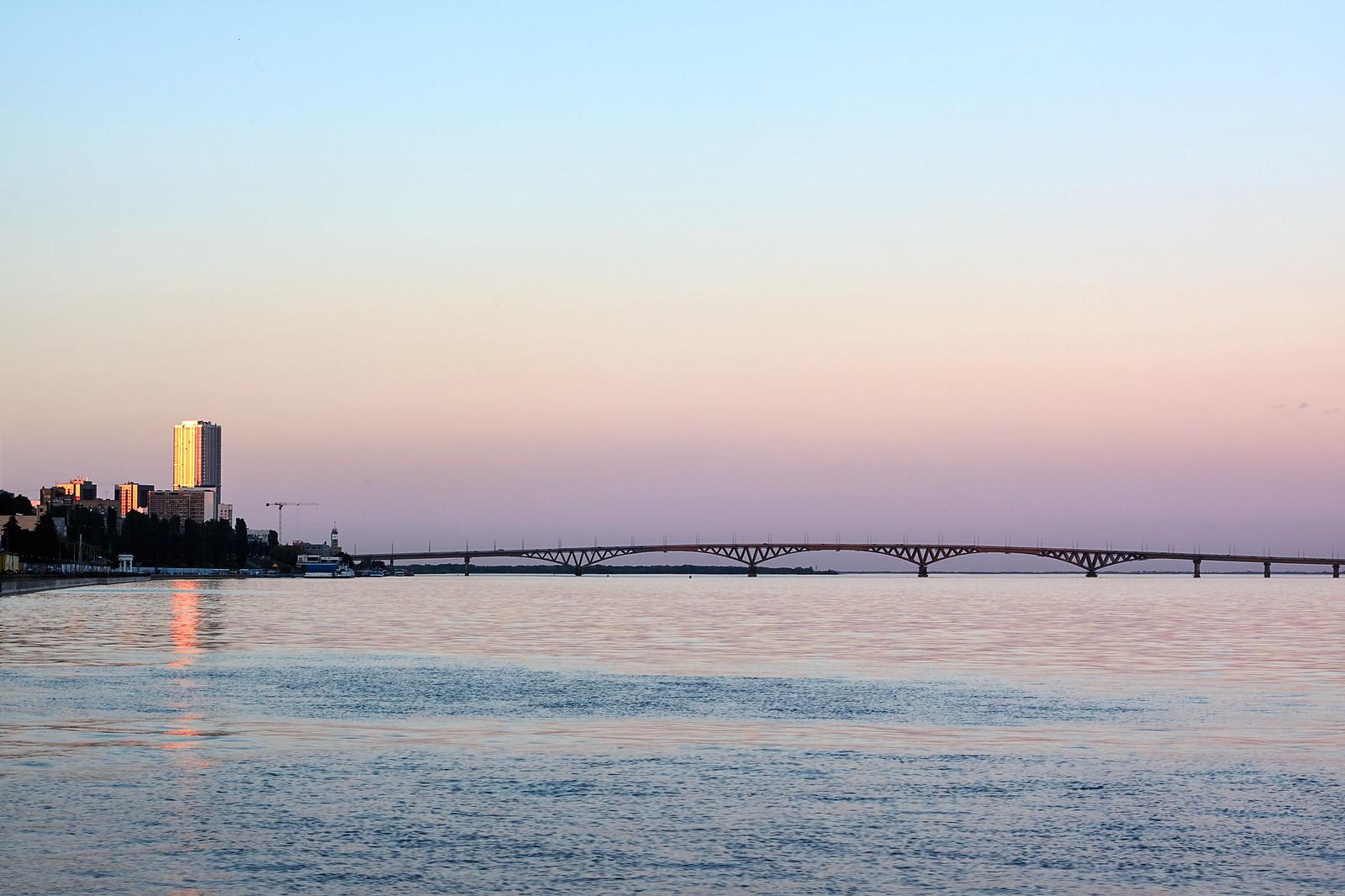Start of the twilight