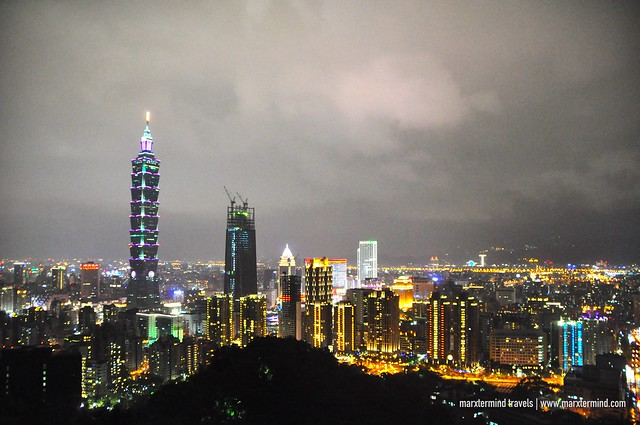 Taipei 101 and the City Lights