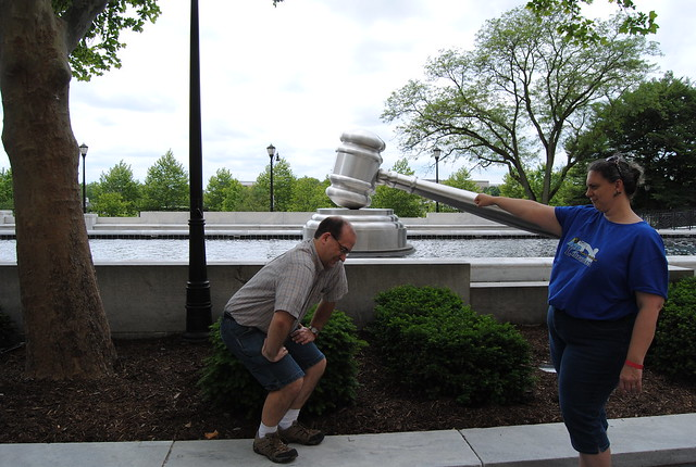 Worlds Largest Gavel, Columbus, Ohio