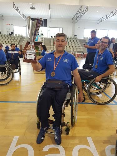 Francisco Javier Almagro, entrenador del Baloncesto en Silla de Ruedas Vistazul
