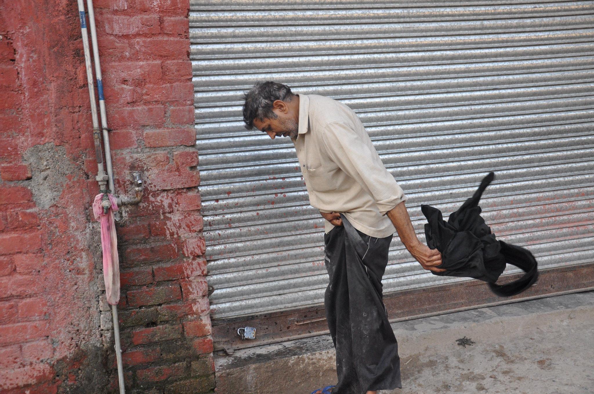 Bhagola , a migrant labour
