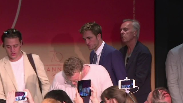 Rob Pattinson PressConference  #GoodTime #Cannes2017