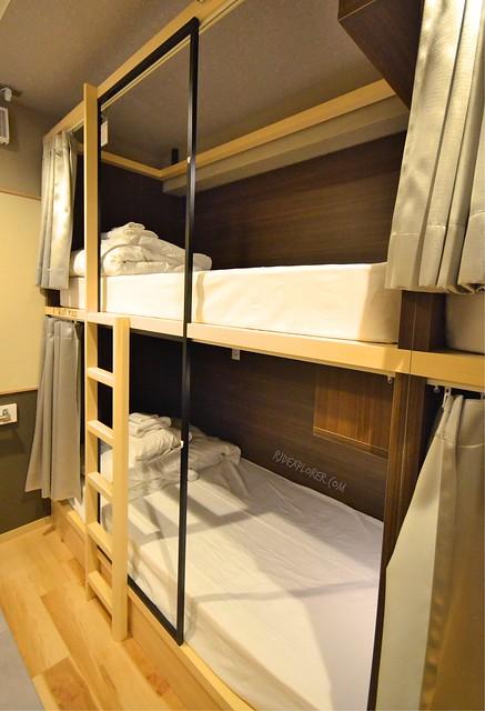 hostel east57 tokyo bunk beds