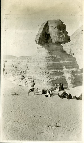 Kilties in front of the Sphinx