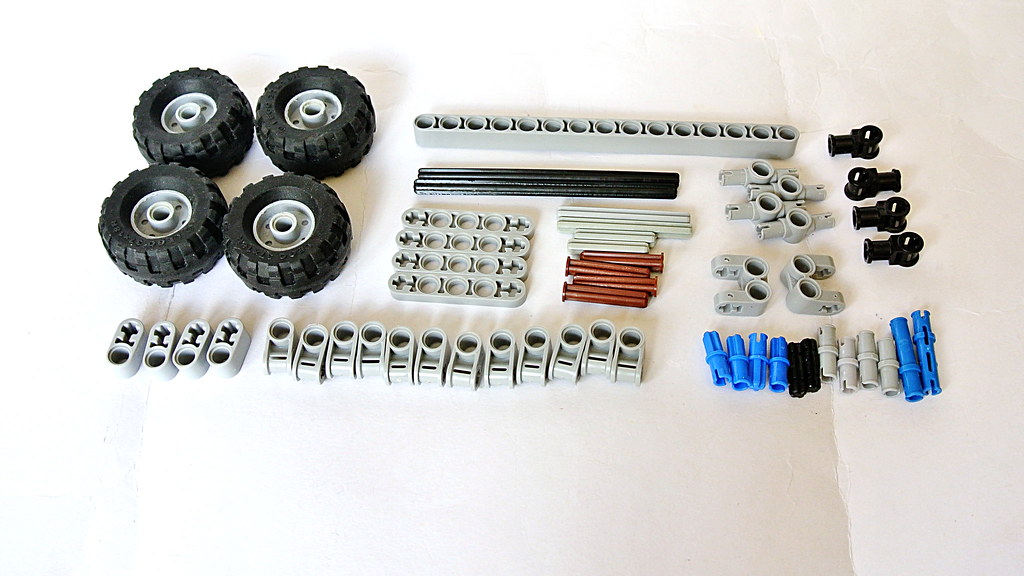 How To Build The Tatra Suspension With Torsion Bar Lego T Flickr