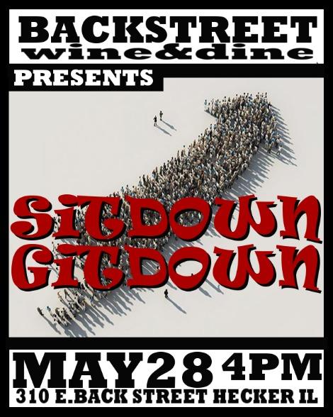 Sitdown Gitdown 5-28-17