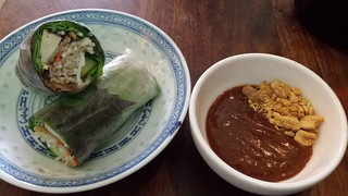 Vegan Rice Paper Rolls at Good Days