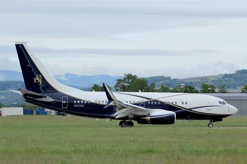 N839BA , Boeing 737-77Z(BBJ) , LFSB , ( ex VP-BAJ )