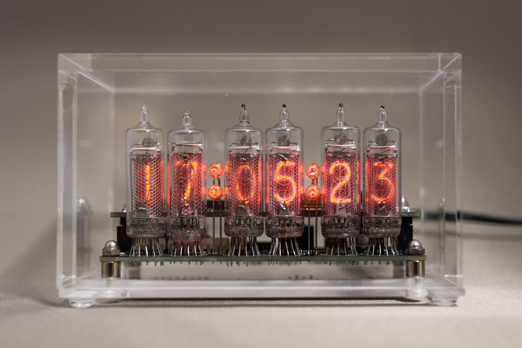 DIY Nixie Tube Clock IN-16