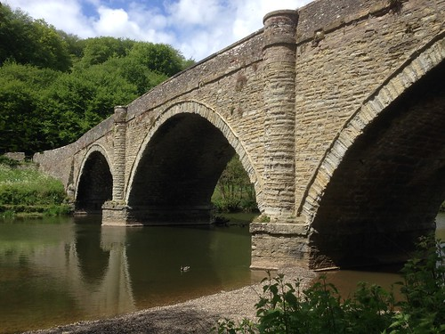 Bridge over the River Teme | by fred pipes