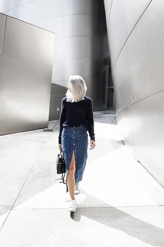 saia midi jeans 6