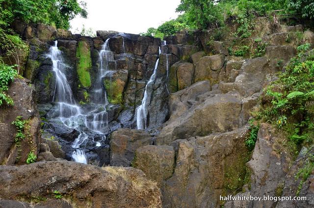 halfwhiteboy - talay falls, hidden falls, luisiana, laguna 18