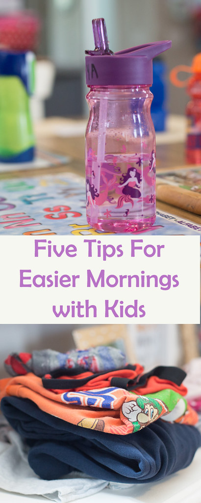 Five Tips For Easier Mornings With Kids
