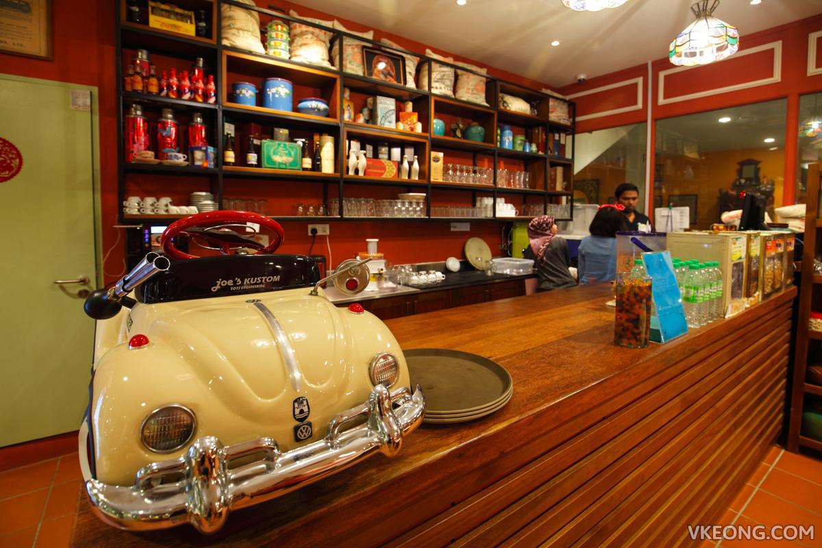Kapitan Kongsi Hotel Melaka Restaurant Kopitiam