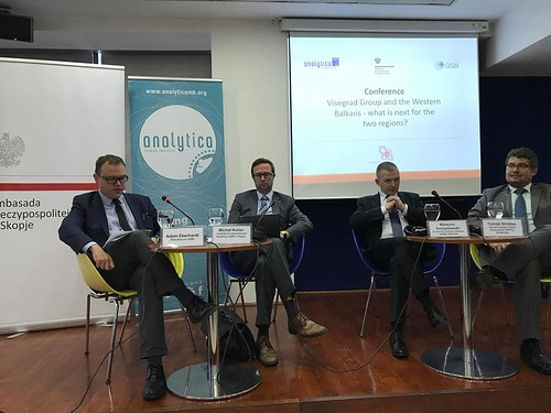 """Conference: """"Visegrad Group and the Western Balkans - what is next for the two regions?"""
