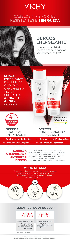 VICHY SHAMPOO DERCOS ENERGIZANTE 200ML