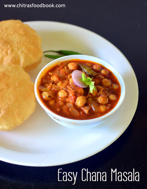 Easy Chole recipe