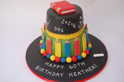 Surprising Teachers Cake Beautiful Birthday Cakes Birthday Cards Printable Inklcafe Filternl