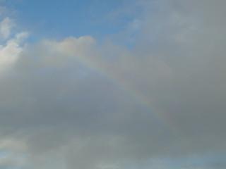O desvanecer do arco-íris