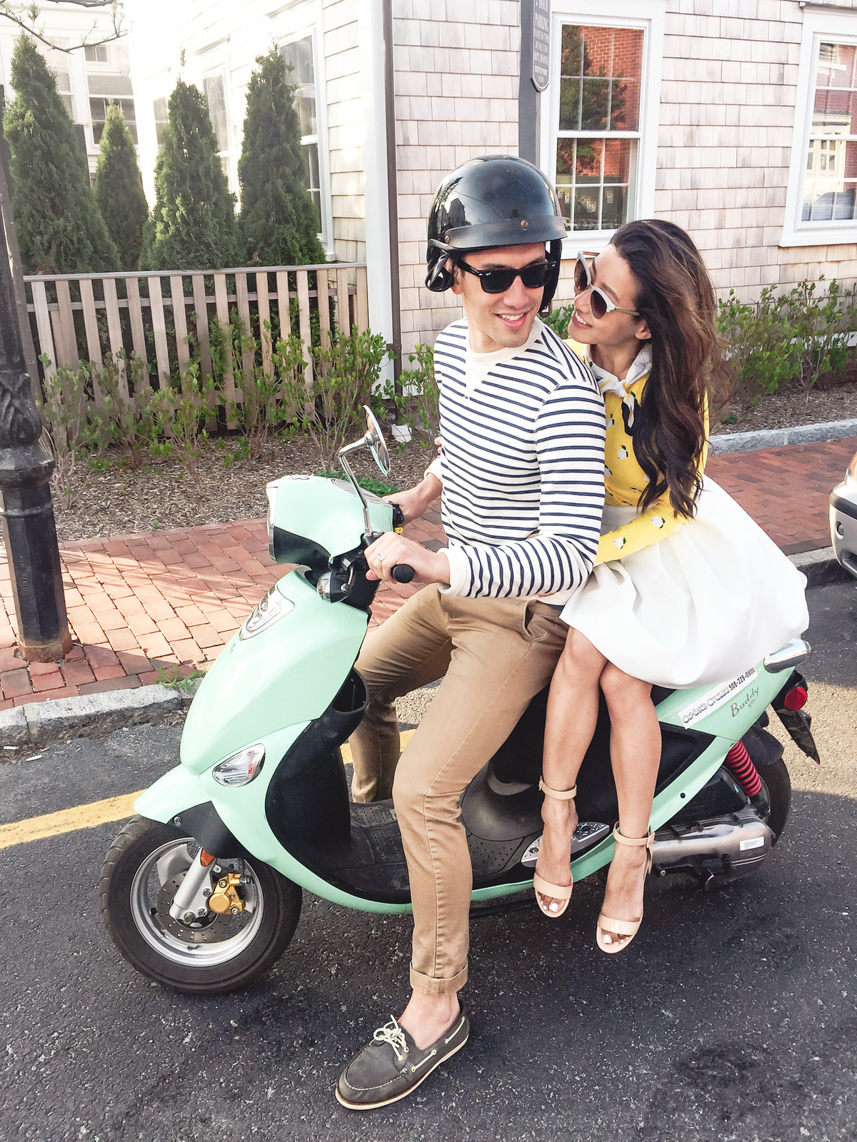 things to do on nantucket_mint green buddy scooter rental