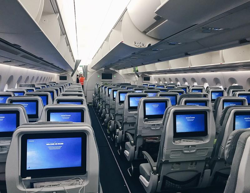FinnairAirbusAircraft350Cabin, lentokone, matkustamo, new, uusi, view, aeroplane,