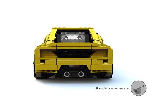 Tonagari Pequenaluz RLP rear - 14-wide - Lego