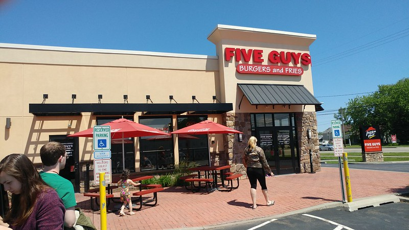 Five Guys Burgers & Fries, Erie, Pennsylvania