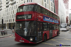 Wrightbus NRM NBFL - LTZ 1192 - LT192 - Clapton Pond 38 - Arriva - London 2017 - Steven Gray - IMG_9251
