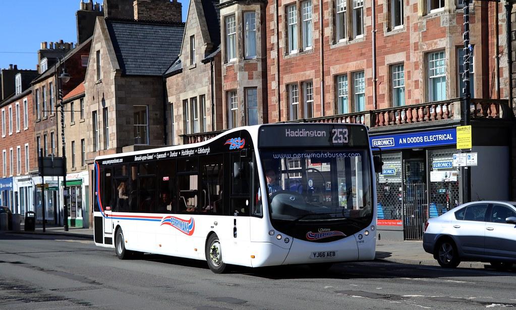 ... busmanscotland 11616 YJ66AEB Borders Buses | by busmanscotland