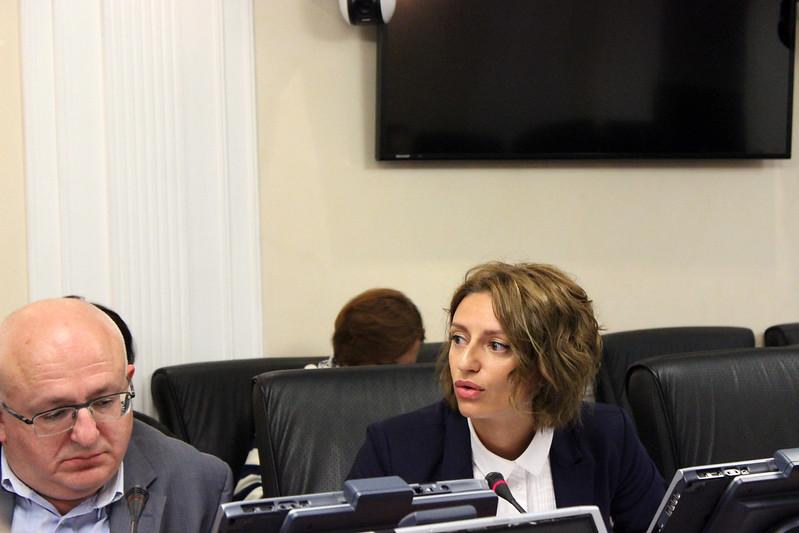 Ольга Дзагоева, председатель Комитета по делам печати и массовых коммуникаций Республики Северная Осетия-Алания