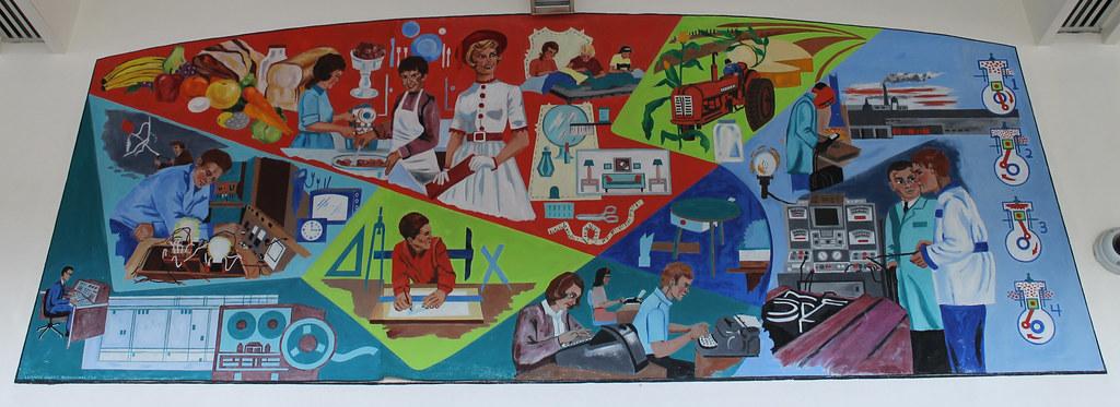 PHS Lobby Murals