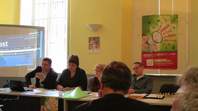 Congrès départemental FCPE Vosges Neufchâteau