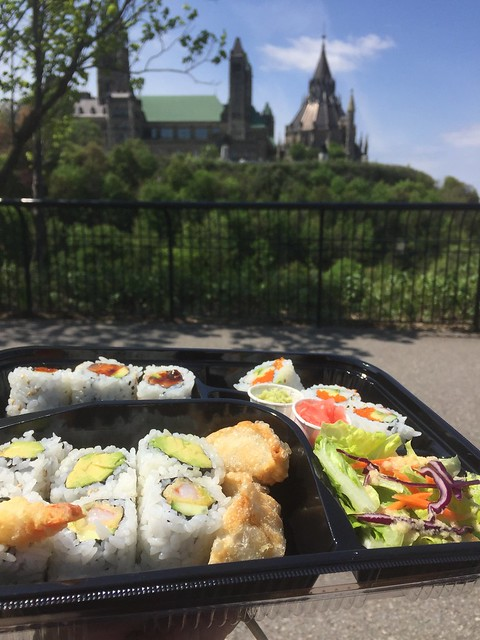 Sushi with a view