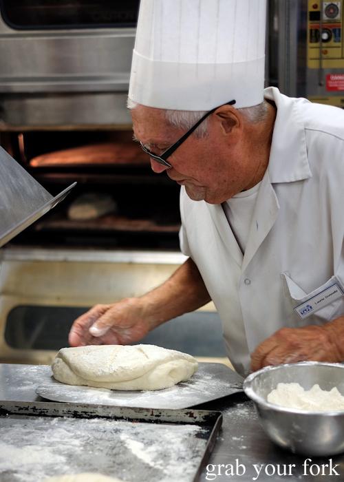 Tabatiere bread ready for baking