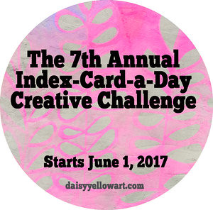 ICAD - Index-Card-a-Day Creative Challenge 2017 blog post by iHanna, graphic by Tammy