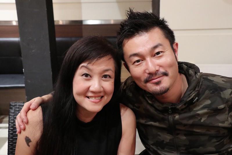 With Chef Sho Naganuma at Menya Sakura